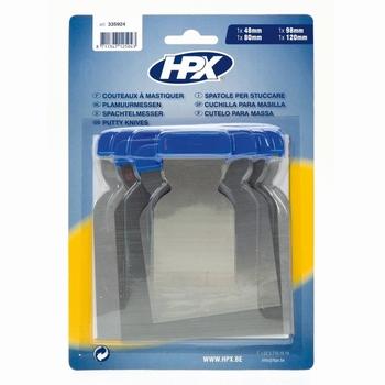 HPX Plamuurmessen set